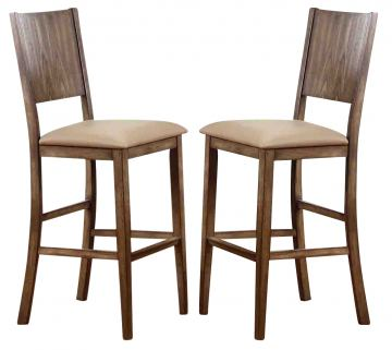 ECI Furniture Ashburn Valley Barstool 1405-91-BS (Set of 2)