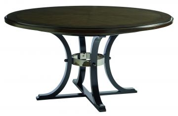 Barclay Butera Brentwood Layton Round Dining Table in Wilshire 915-875C