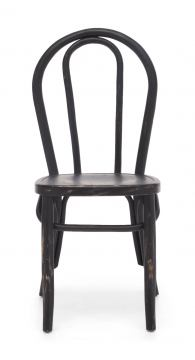 Zuo Modern Nob Hill Chair in Antique Black (Set of 2) 98050