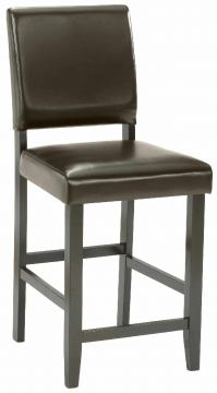 Hillsdale Arcadia Parson Counter Stool (Set of 2) in Espresso 4180-823YM
