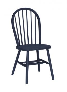 John Thomas Furniture Dining Essentials Windsor Side Chair (Set of 2) in Black C46-112