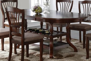 New Classic Bixby Dining Table in Espresso D2541-10