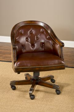 Hillsdale Harding Game Chair in Lightly Distressed Burnished Cherry (Set of 2) 6234-801