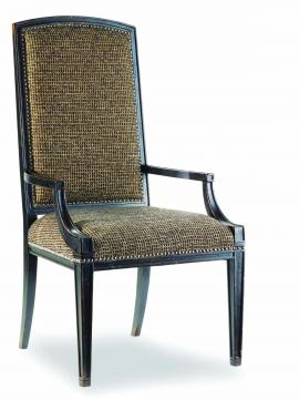 Hooker Furniture Sanctuary Mirage Arm Chair in Ebony (Set of 2) 3005-75400 SALE Ends Oct 26