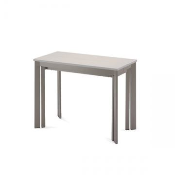 Domitalia Mondo Console/Dining Extension Table in Sand and Taupe