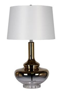 Jasmyn Glass Table Lamp in Gold L430424