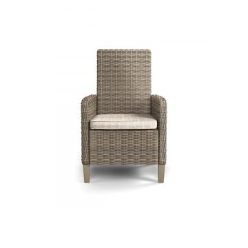 Beachcroft Outdoor Arm Chair w/Cushion in Beige (Set of 2) P791-601A