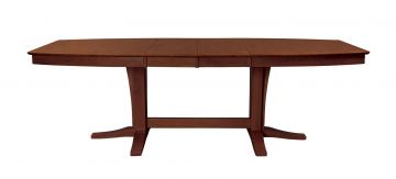 John Thomas Furniture Cosmopolitan Milano Double Butterfly Extension Table in Espresso T581-4096XXTB