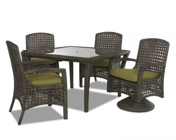 Klaussner Outdoor Amure 5-Piece Dining Room Set