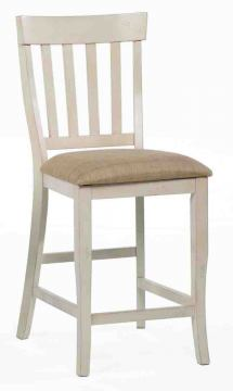 ECI Furniture Trophy Lane Stool in Antique White 3015-20-BS (Set of 2)