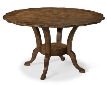 "Klaussner Southern Pines 54"" Round Dining Table in Pine Ridge 436-054"