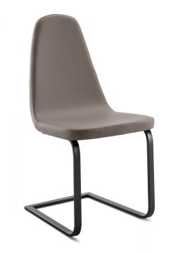Domitalia Blade-Sp Chair in Skill Taupe BLADE.S.AN.0KS.7JI (Set of 2)