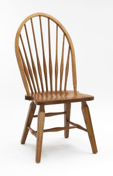 Intercon Furniture Rustic Traditions Windsor Side Chair in Rustic (Set of 2)