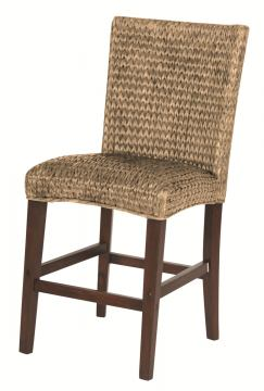 Coaster Westbrook Woven Counter Height Stool in Natural (Set of 2) 101095