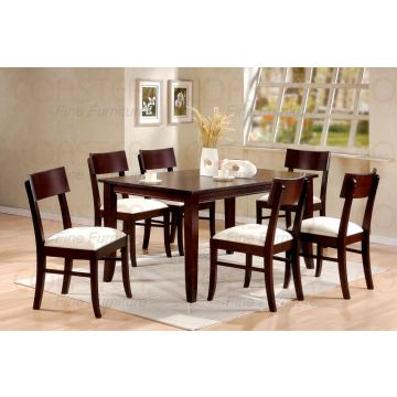 Coaster Cappuccino Finish Casual Dining Set
