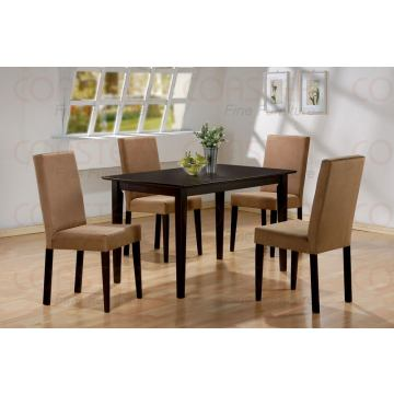 Coaster 5pc Dining Set in Cappuccino 100491S