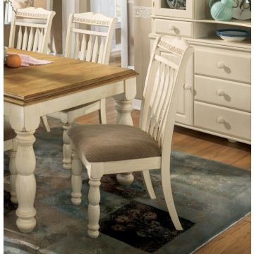 Cottage Retreat Side Chairs (Set of 2) in Two-Tone