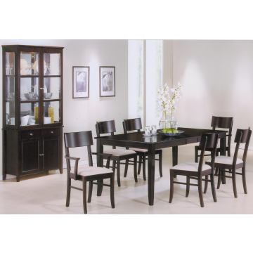 Coaster Springs 7-pc Table Set in Cappuccino