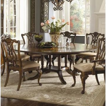 Universal Furniture Kentwood Round Pedestal Dining Table CODE:UNIV20 for 20% Off