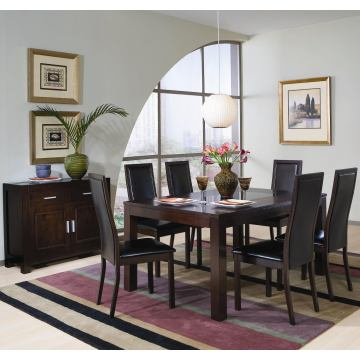 Coaster Annetta 7pc Dining Set in Cappuccino 101391S