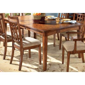 Cross Island Rectangular Extension Table