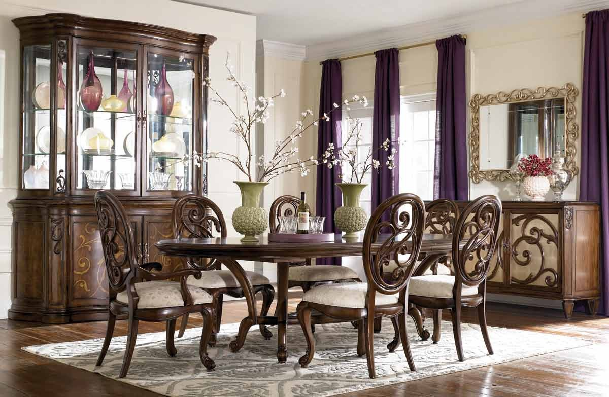 American Drew Jessica McClintock Couture 7-Pc Renaissance Dining Room Set