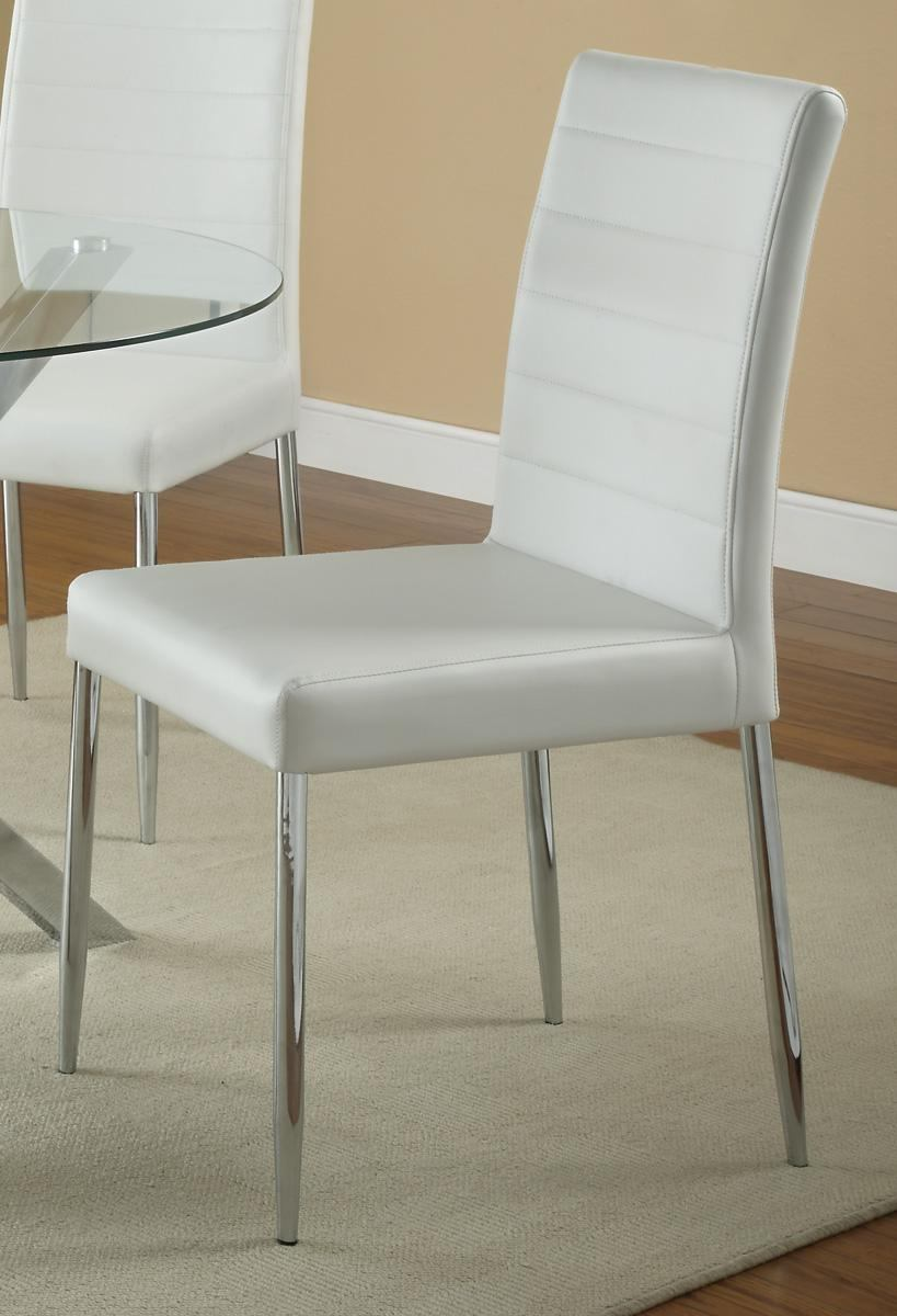 Coaster Vance Dining Chair in White (Set of 2) 120767WHT
