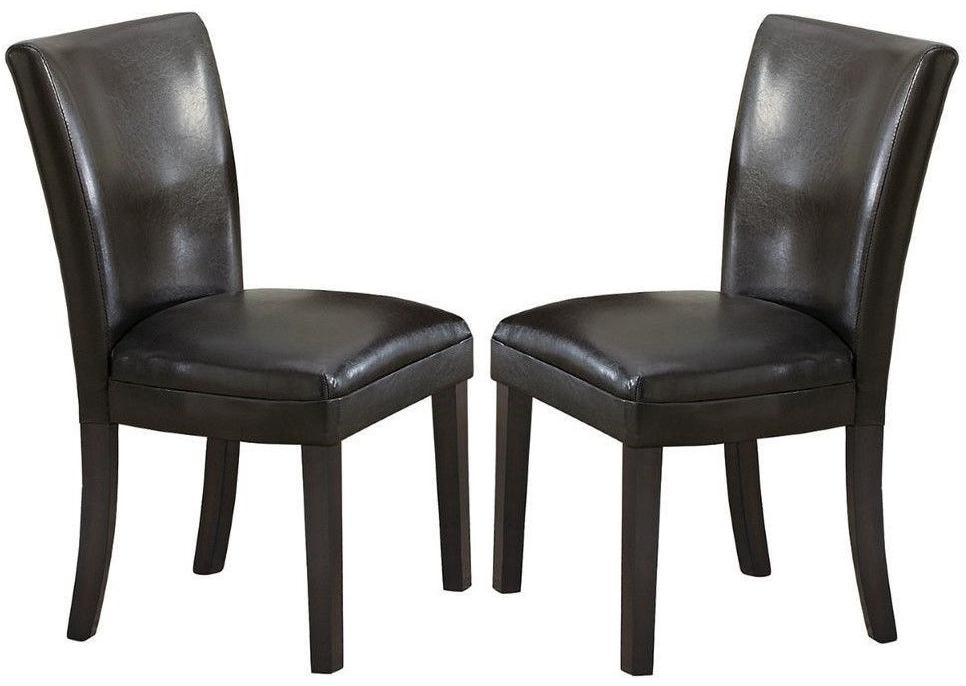 Coaster Carter Dining Chair in Black (Set of 2) 102262