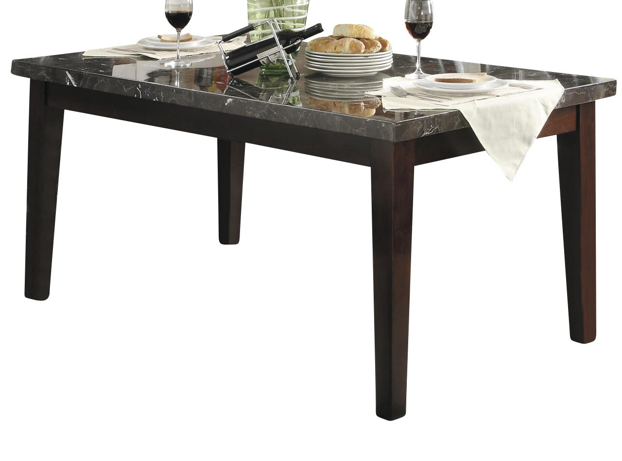 Homelegance Decatur Dining Table in Cherry 2456-64