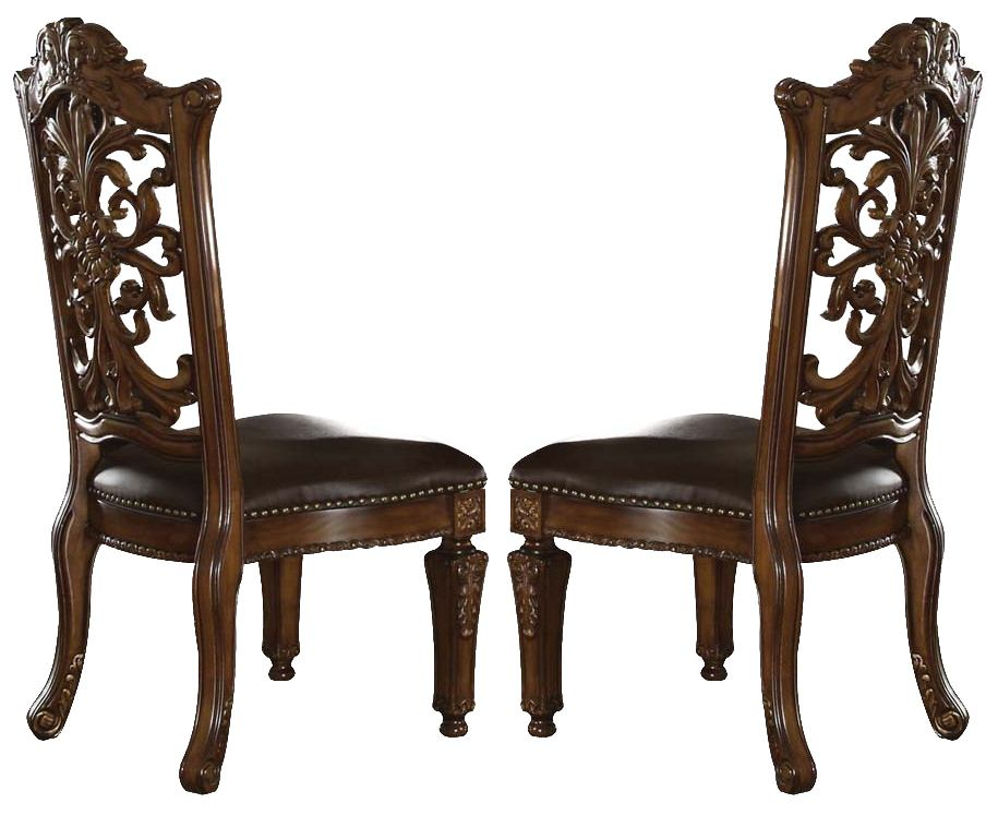 Acme Vendome Cherry Finish Side Chair (Set of 2) 60003 SPECIAL