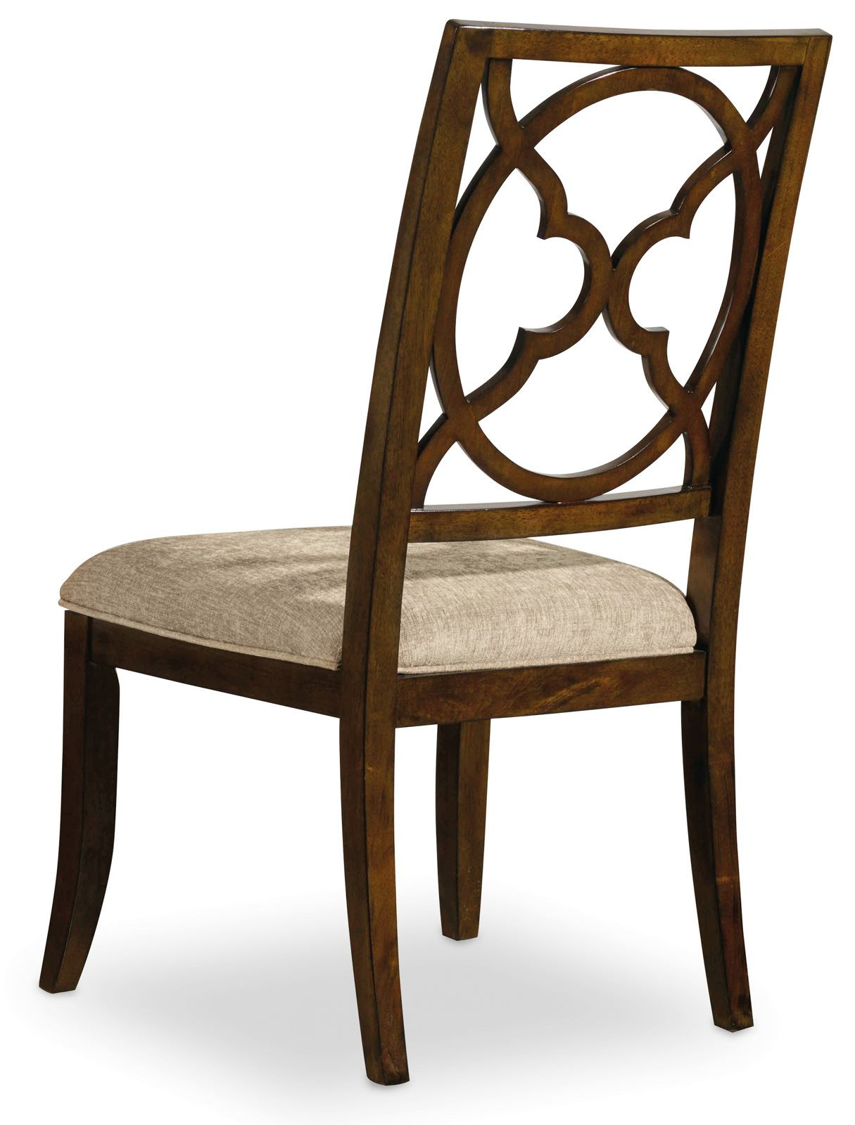 Hooker Furniture Skyline Fretback Side Chair in Cathedral Cherry (Set of 2)