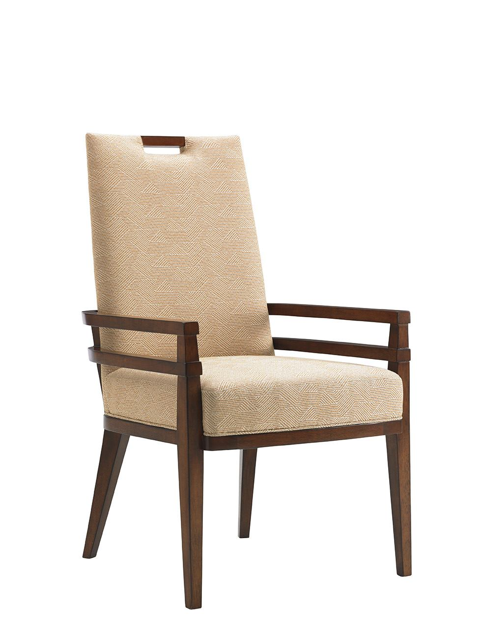 Tommy Bahama Home Island Fusion Coles Bay Arm Chair in Cresting Waves (Set of 2) 556-885-01