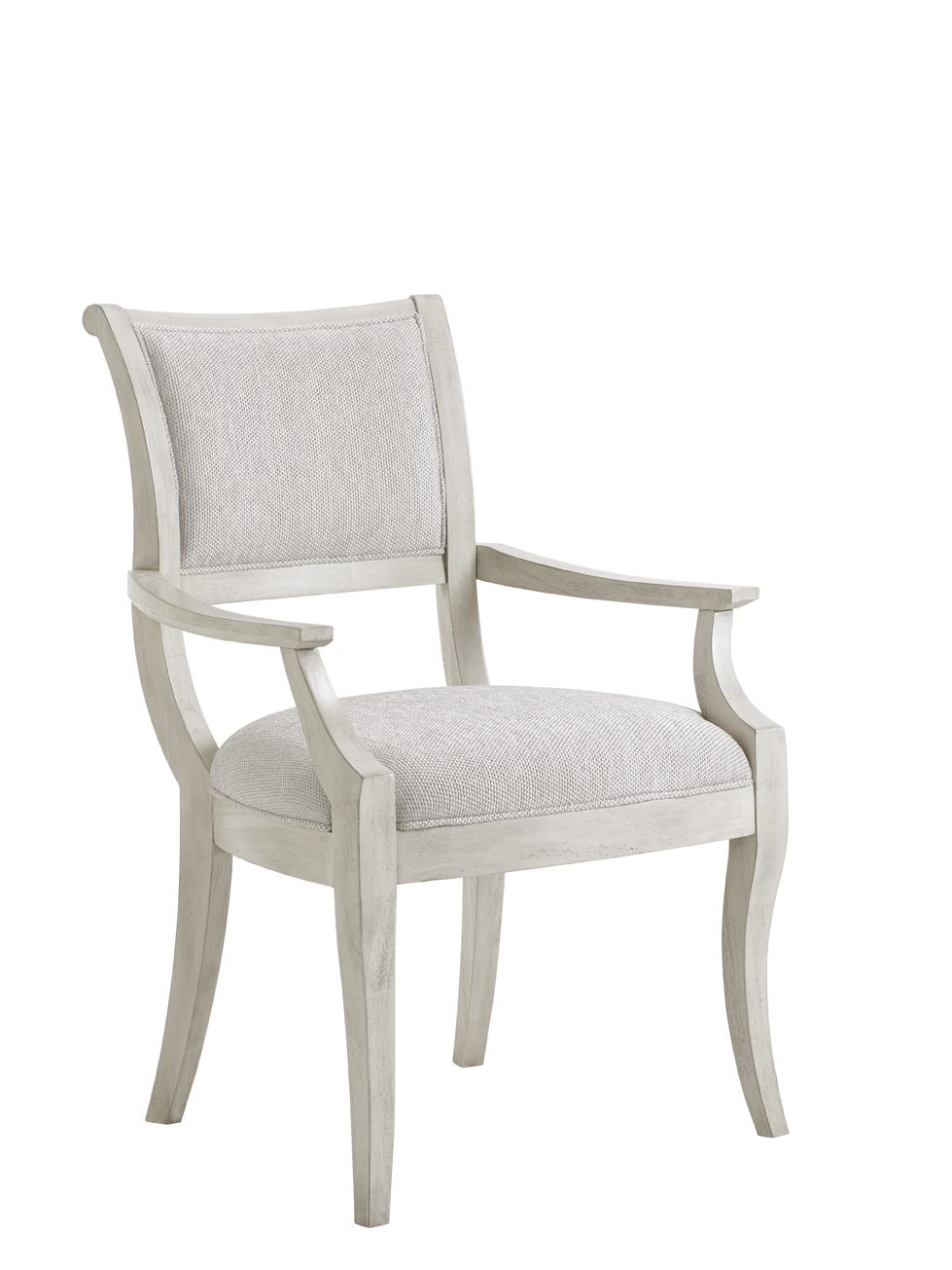 Lexington Oyster Bay Eastport Arm Chair in Light Oyster Shell (Set of 2) 714-881-01