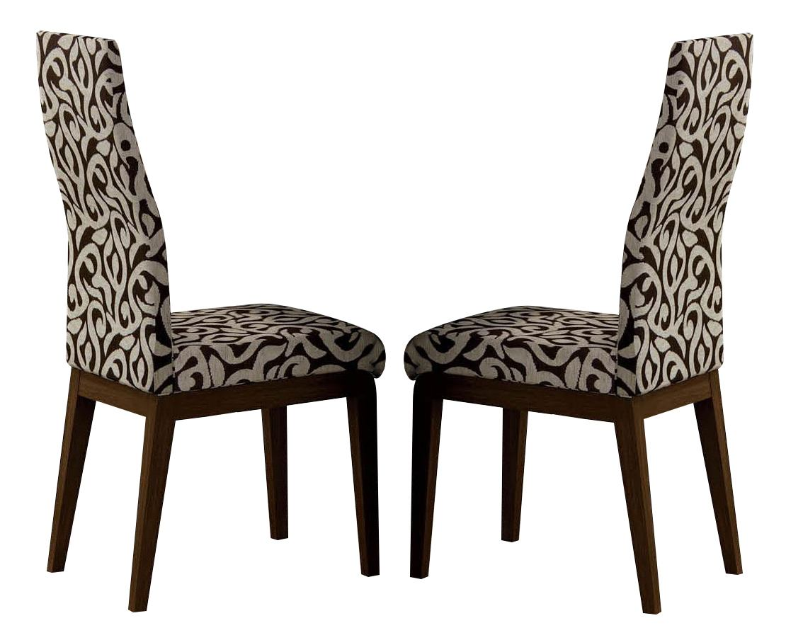 ESF Furniture Ada Chair in Beige/Lacquered (Set of 2)