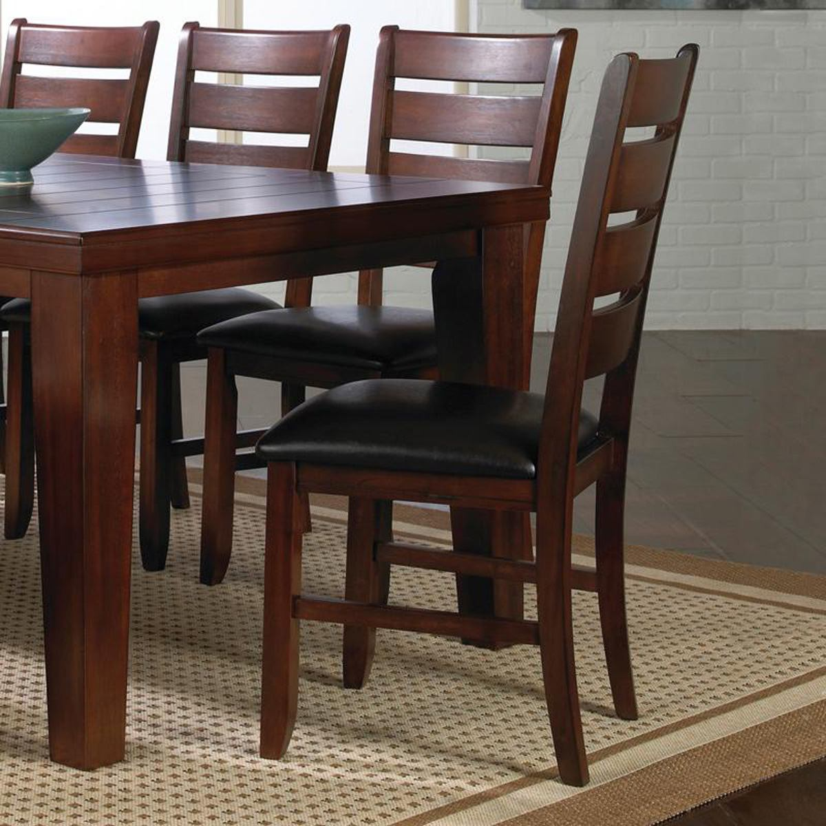 Crown Mark Bardstown Side Chair in Espresso (Set of 2) 2152S