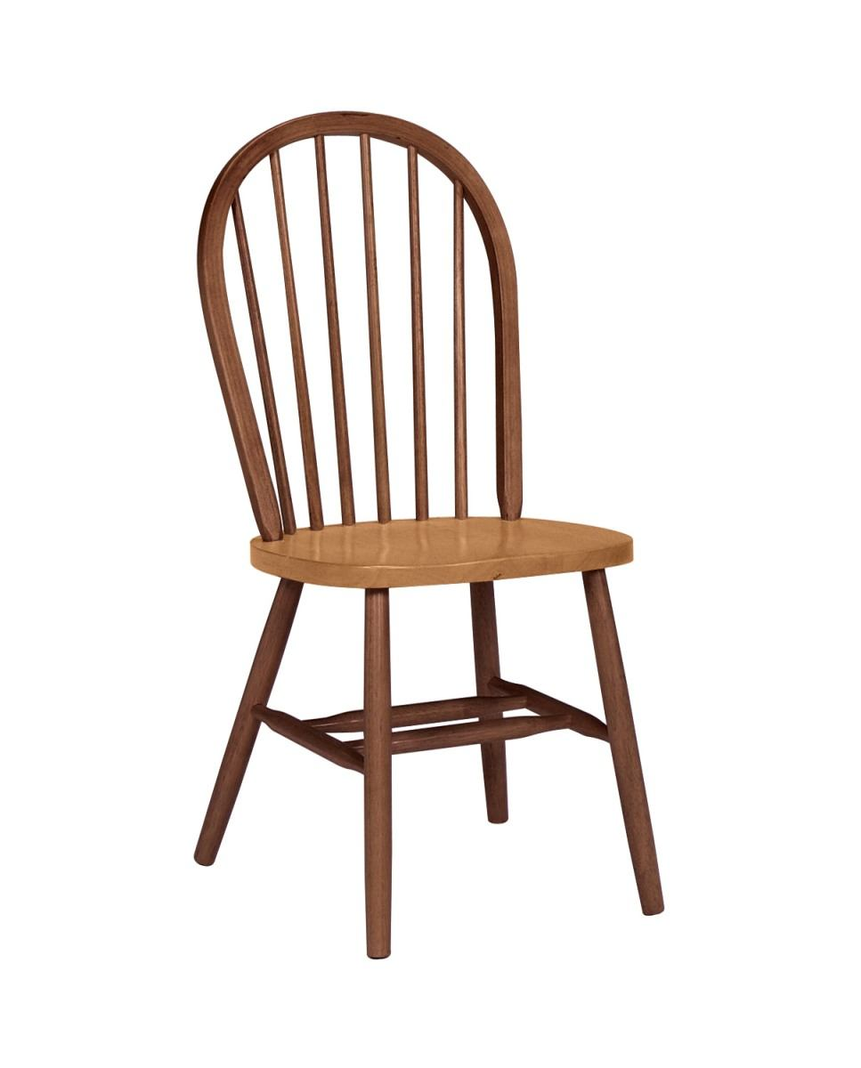 John Thomas Furniture Dining Essentials Windsor Side Chair (Set of 2) in Espresso C581-112