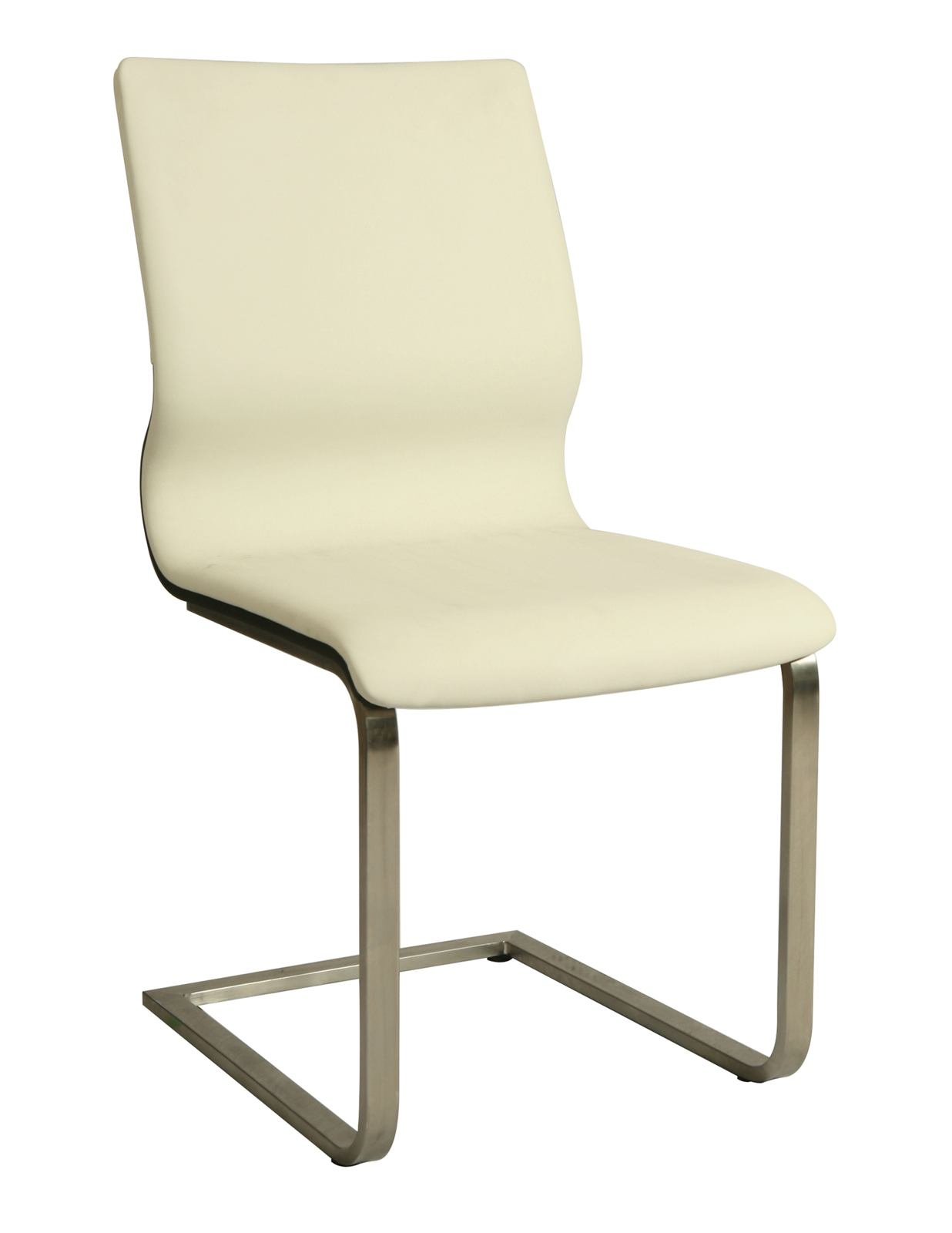 Pastel Furniture Charlize Side Chair in Wenge (Set of 2) CH-110-SS-WE-978
