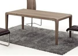 Diamond Sofa Furniture Wind Dining Table in Ash DT-39-2