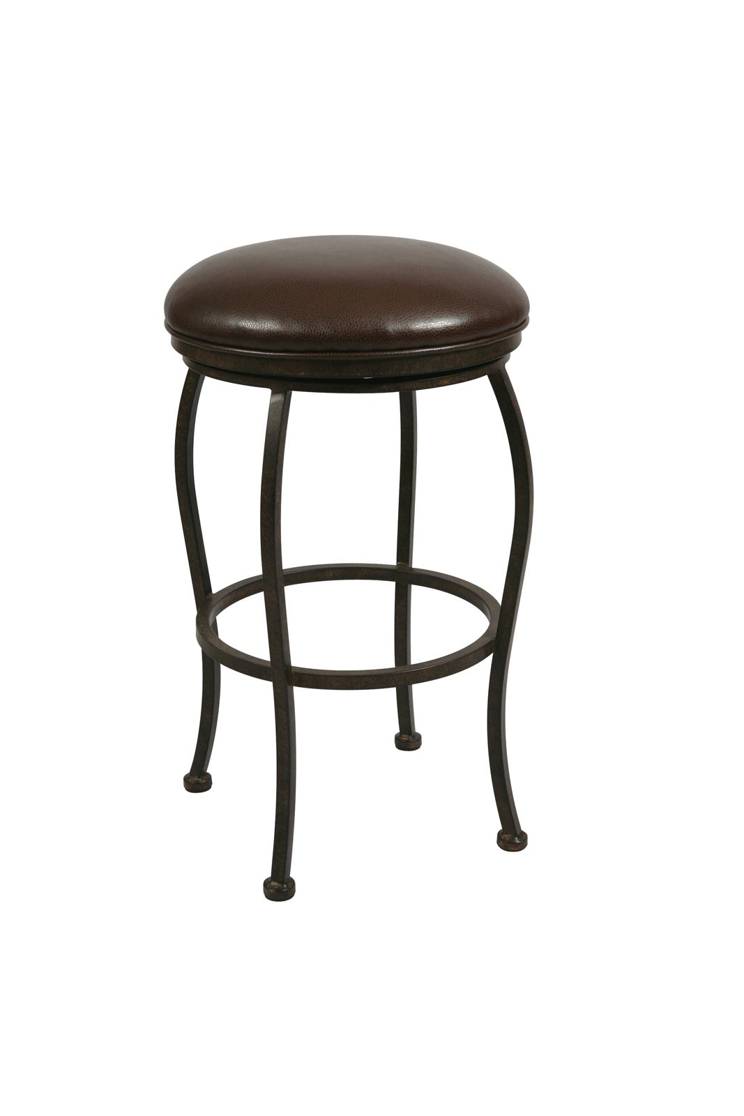 Pastel Furniture Island Falls Backless Barstool in Autumn Rust (Set of 2) IF-215-30-AR-945
