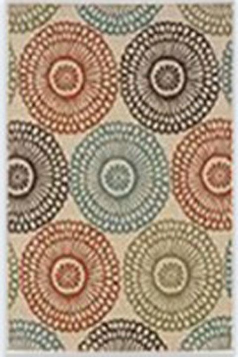 Holliday Large Rug in Multi R402271