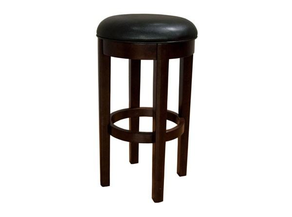 "A-America Parsons 30"" Swivel Stool in Black (Set of 2) PRSES361K CODE:UNIV20 for 20% Off"