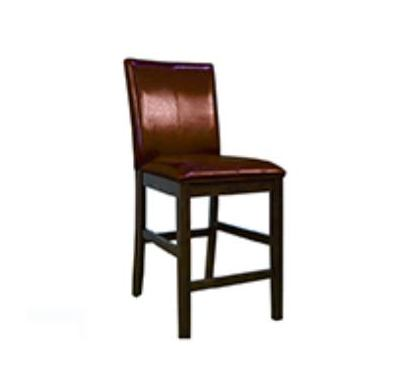 A-America Parsons Low Back Parson Bar Chair in Red (Set of 2) PRSES332K