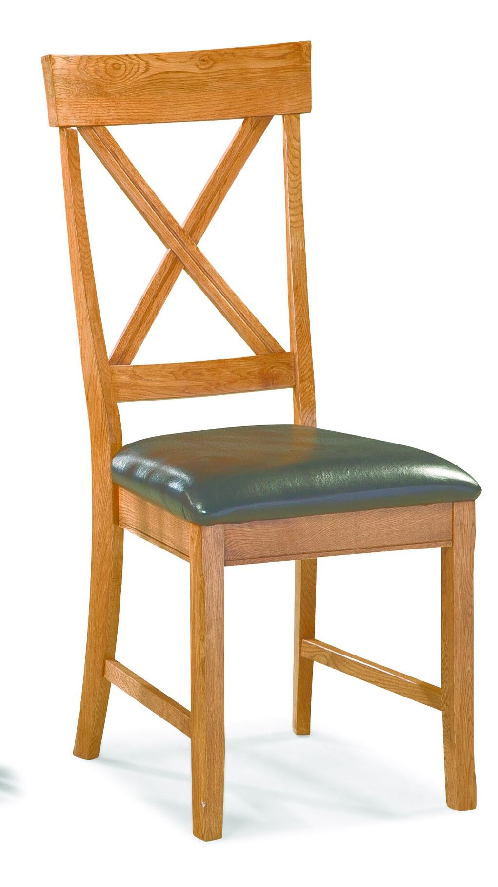 Intercon Furniture Family X-Back Chair in Chestnut (Set of 2)