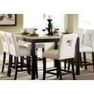 Homelegance Archstone 7pc Counter Height Table Set in White