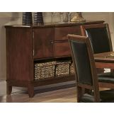 Homelegance Avalon Server in Cherry 1205-40
