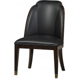 Fine Furniture Humphrey Bogart Smooth Sailing Upholstered Side Chair in Whiskey (Set of 2) 1428-827