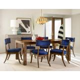Hooker Furniture Cynthia Rowley 7-Piece Long Board Rectangle Dining Room Set