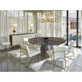 Fine Furniture Design Runway 7-Piece Accolade Round Dining Table Set in Eucalyptus