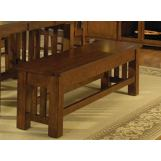 A-America Laurelhurst Storage Bench in Mission Oak LAUOA297K CODE:UNIV20 for 20% Off