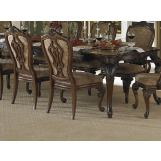 Homelegance Cromwell Dining Table in Cherry 2106-112